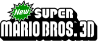 New Super Mario Bros. 3D Logo