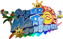 Super Mario Sunshine 2 Logo