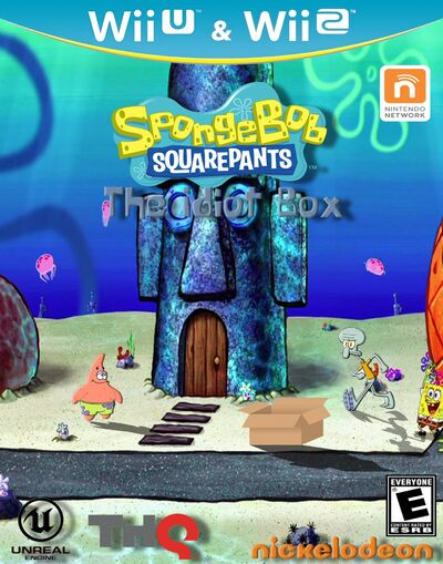 SpongeBob Idiot Box Cover2
