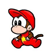 Baby Diddy Kong