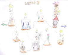 Yoshi Story 2 - World 2