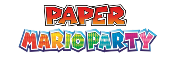 File:Paper Mario Party Logo.png