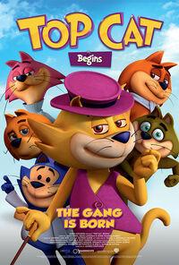 Top Cat Begins UK 2016 Poster