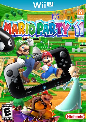 Mario Party 11 Box Art