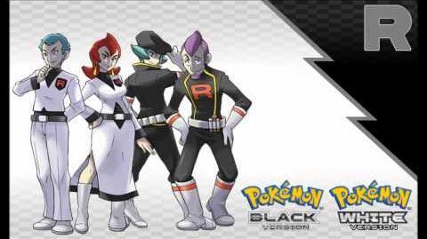 Pokémon BR WB - Vs Team Rocket Executive Black White Soundfont