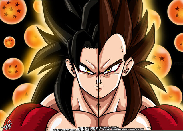 File:Super Saiyan 4 Goku and Vegeta by Zen904.jpg