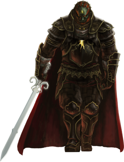 TPHD Ganondorf Artwork