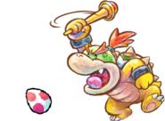 555px-Kamek and Baby Bowser Artwork - Yoshi's New Island