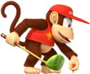 Diddy Kong Artwork - Mario Golf World Tour