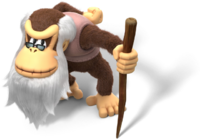 640px-Cranky Kong Artwork - Donkey Kong Country Tropical Freeze