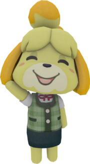 Isabelle render test by ponypikmin1998-d8rvanm
