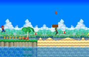 MarioScreenshotBeachSceneMP