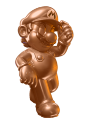 Orange Metal Mario