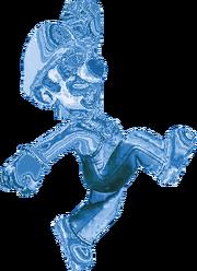 Frozen Luigi