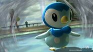 Pokemon Trainer and Piplup in SSRPG3NE