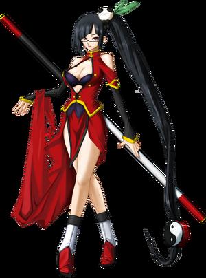 Litchi Faye-Ling (Calamity Trigger, Character Select Artwork)