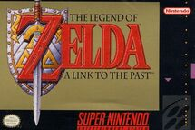 Link to the Past Boxart