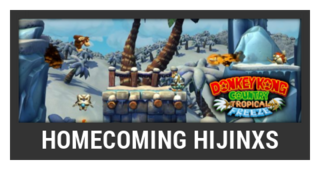 ACL -- Super Smash Bros. Switch stage box - Homecoming Hijinxs