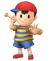 Ness ssb 3ds and wii u by bubblekirby77-d6tj4ne