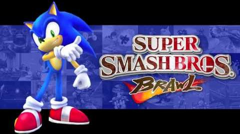 Super Sonic Racing (Super Smash Bros