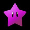Purple Coin Star SMW3D