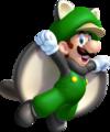 Flying Squirrel Luigi - New Super Luigi U