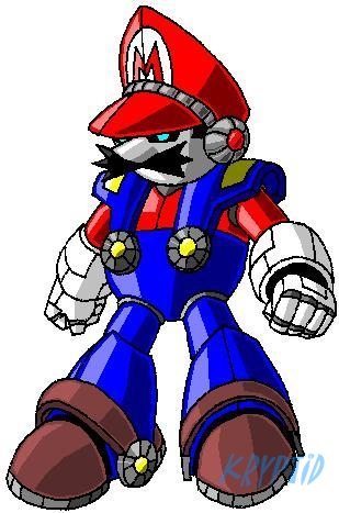 Luigi Mecha Ready To Destroy The Mushroom Kingdom