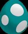 Teal Baby Yoshi Egg