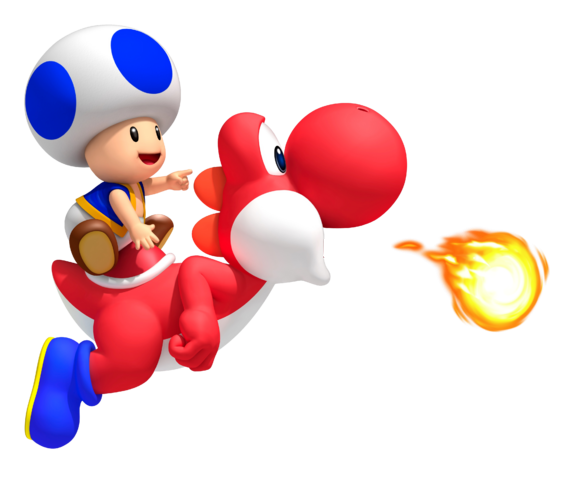 File:Blue Toad on Red Yoshi.png
