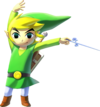 Link (alt 2) - The Legend of Zelda The Wind Waker HD
