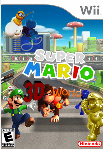 File:Super Mario 3D World Alternate Cover.png