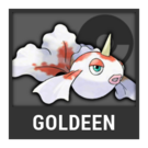 ACL -- Super Smash Bros. Switch Pokémon box - Goldeen