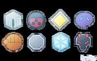 Johto badges by kaedi-d6yupfv