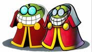 Fawful and Manga Fawful-kun Artwork Mario and Luigi Manga Mashup