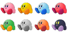 Kirby Colors