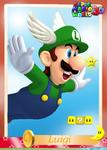 SMW3D LuigiTradingCard