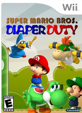 File:Super Mario Bros Diaper Duty.PNG