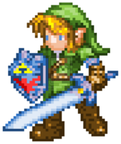16 bit ocarina of time link by truehands-d5t5yt9
