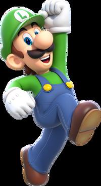 Luigi Popstar Crossover