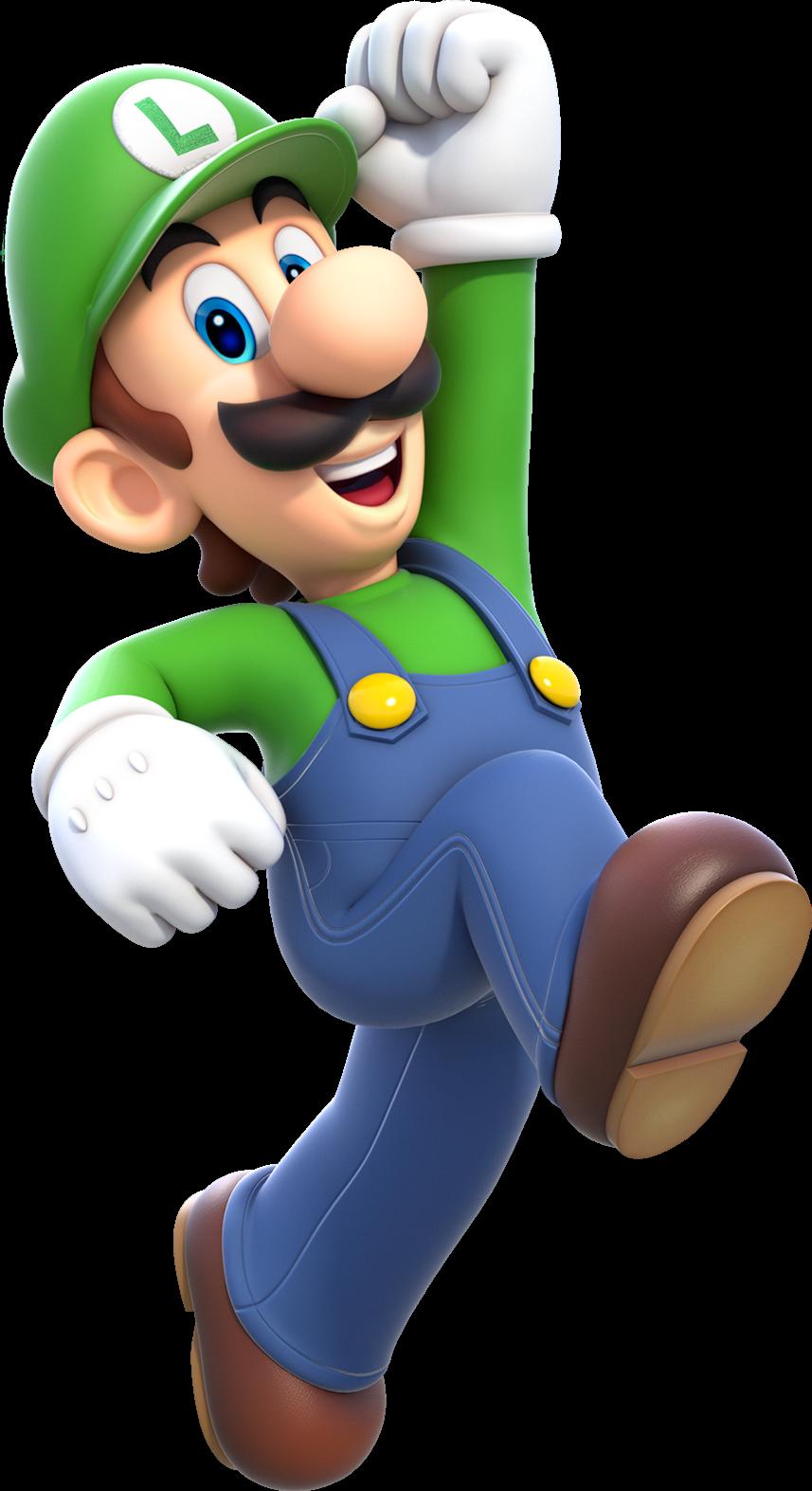 Super mario bros the popstar crossover fantendo - Luigi mario party ...