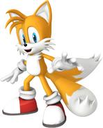 Tails sonic mega