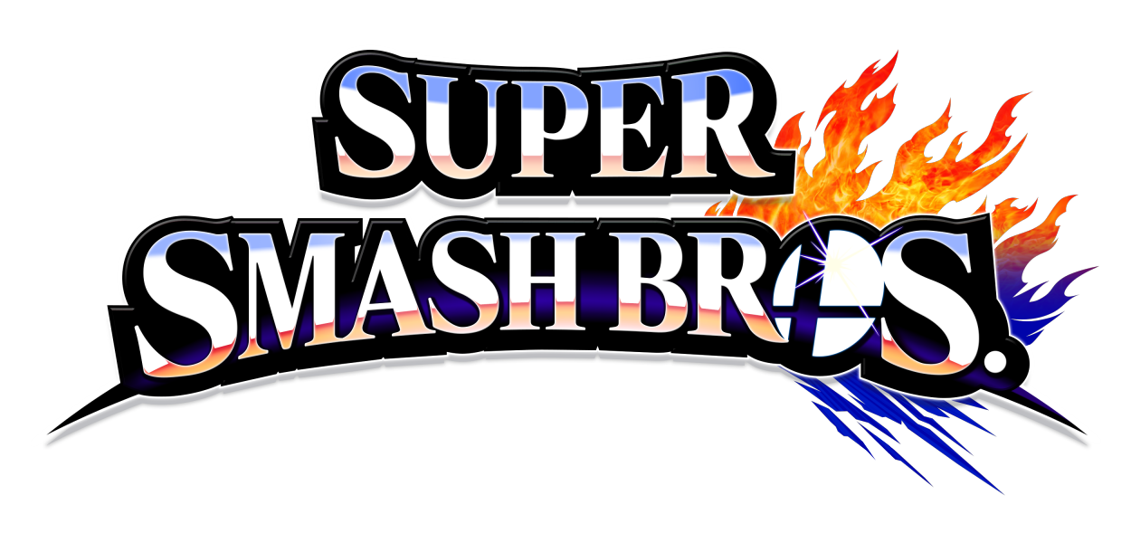 Image result for smash bros logo