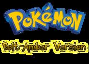 Pokemon Bolt-Amber Version Logo