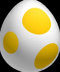 Yellow Yoshi Egg