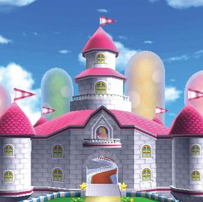 Peach's Castle MK7