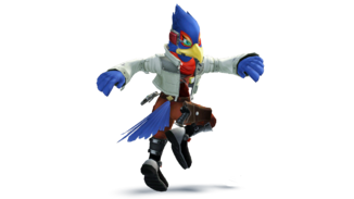 Falco smash4 styled render by machriderz-d7ri2p3