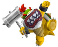 Bowser Jr. with a Hammer
