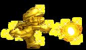 NSMB2 Golden Mario