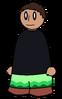 Pants Green Waves Generic