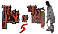 House of the Dead 5 logo